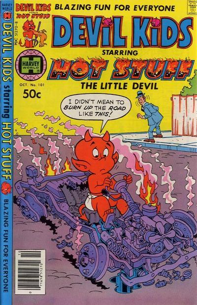 Cover for Devil Kids Starring Hot Stuff (Harvey, 1962 series) #101