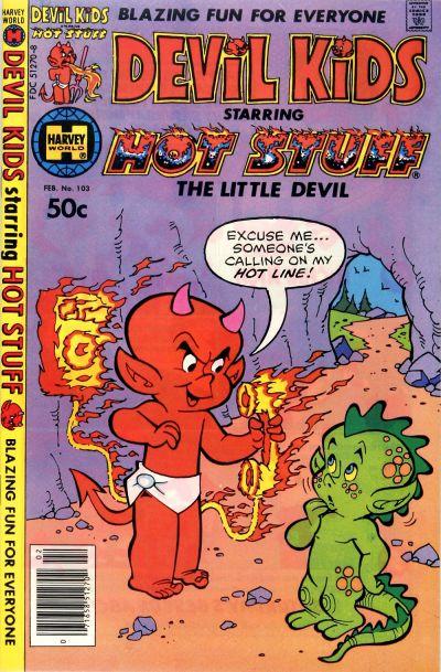 Cover for Devil Kids Starring Hot Stuff (Harvey, 1962 series) #103