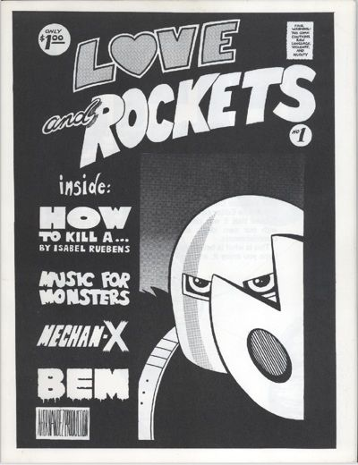 Cover for Love and Rockets (Los Bros. Hernandez, 1981 series) #1