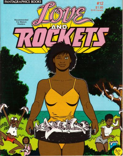 Cover for Love and Rockets (Fantagraphics, 1982 series) #12