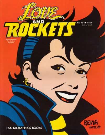 Cover for Love and Rockets (Fantagraphics, 1982 series) #15