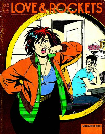 Cover for Love and Rockets (Fantagraphics, 1982 series) #26