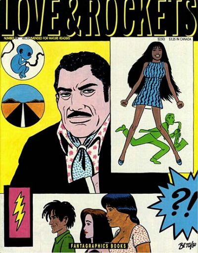 Cover for Love and Rockets (Fantagraphics, 1982 series) #34