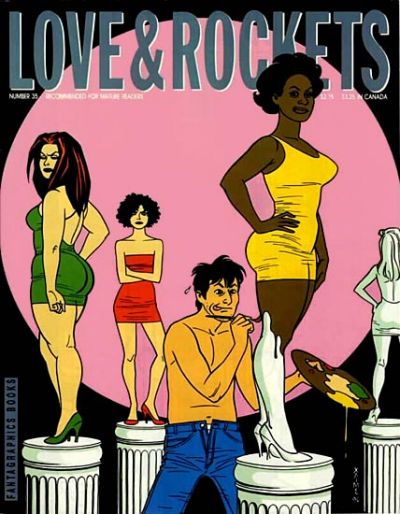 Cover for Love and Rockets (Fantagraphics, 1982 series) #35