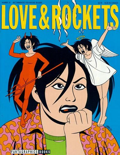 Cover for Love and Rockets (Fantagraphics, 1982 series) #39