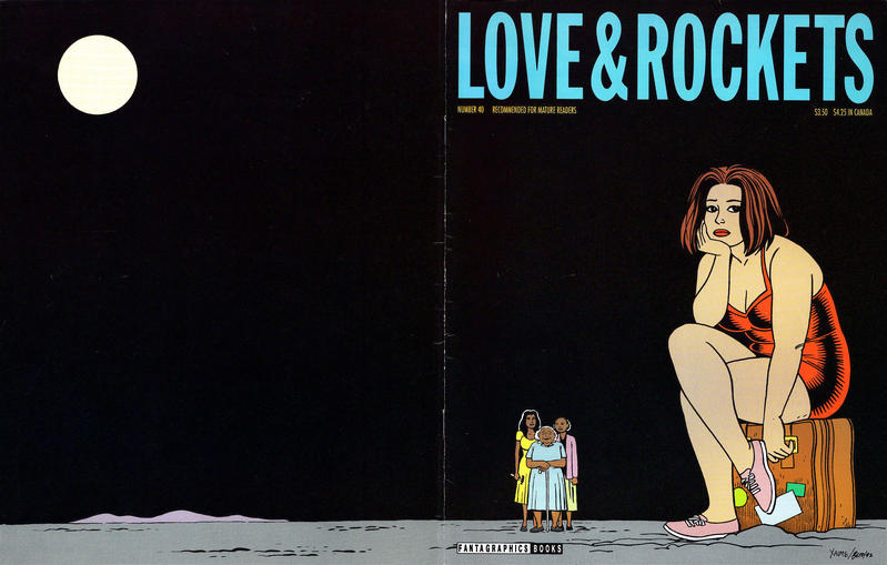 Cover for Love and Rockets (Fantagraphics, 1982 series) #40