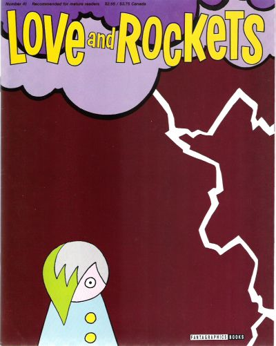 Cover for Love and Rockets (Fantagraphics, 1982 series) #41
