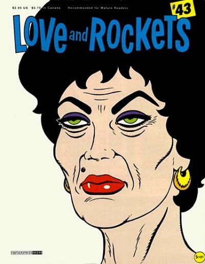 Cover for Love and Rockets (Fantagraphics, 1982 series) #43