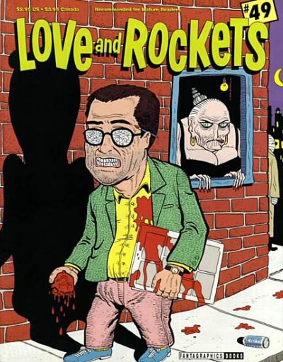 Cover for Love and Rockets (Fantagraphics, 1982 series) #49
