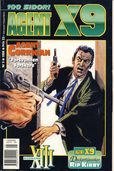 Cover for Agent X9 (Semic, 1971 series) #5/1996