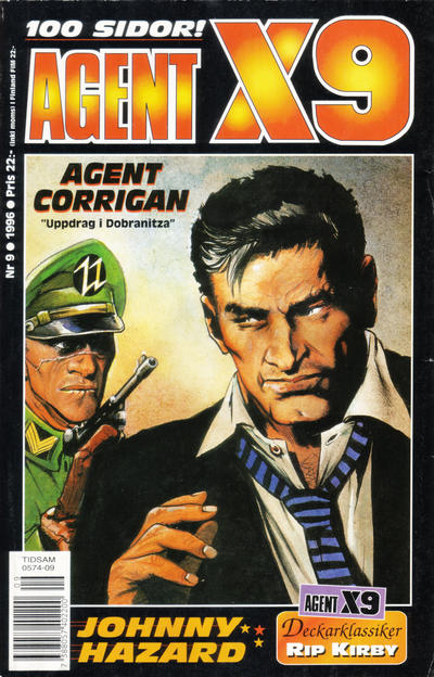 Cover for Agent X9 (Semic, 1971 series) #9/1996