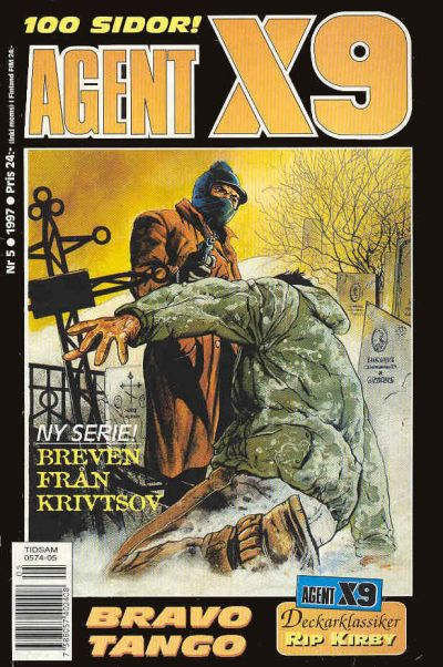 Cover for Agent X9 (Semic, 1971 series) #5/1997