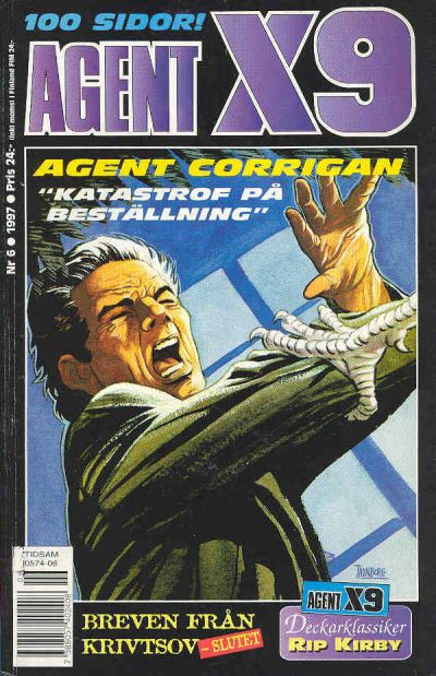 Cover for Agent X9 (Semic, 1971 series) #6/1997