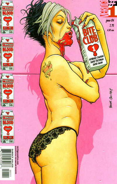 Cover for Bite Club (DC, 2004 series) #1