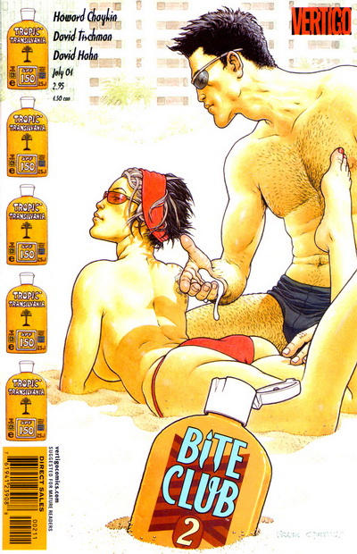 Cover for Bite Club (DC, 2004 series) #2