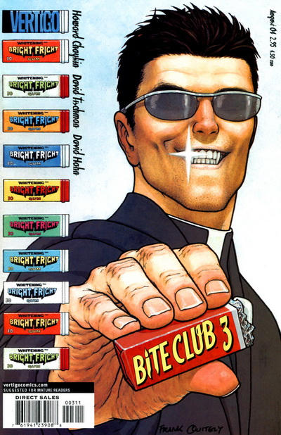 Cover for Bite Club (DC, 2004 series) #3