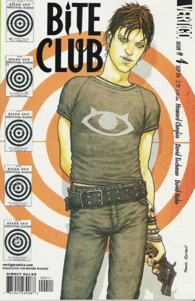 Cover for Bite Club (DC, 2004 series) #4