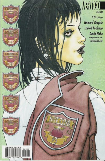 Cover for Bite Club (DC, 2004 series) #5