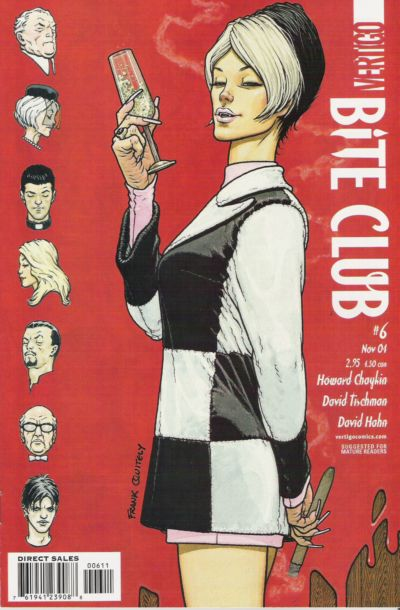 Cover for Bite Club (DC, 2004 series) #6