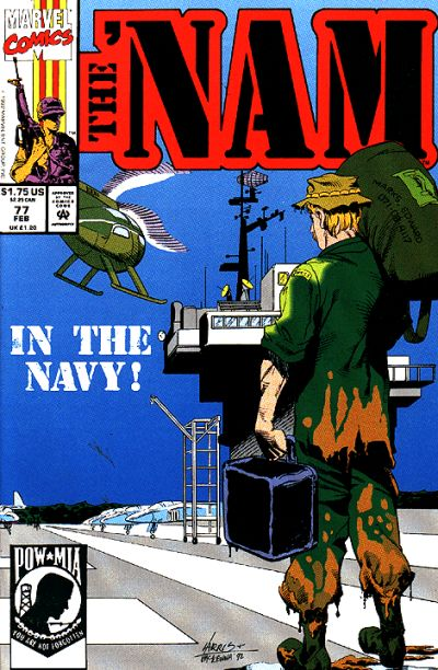 Cover for The 'Nam (Marvel, 1986 series) #77