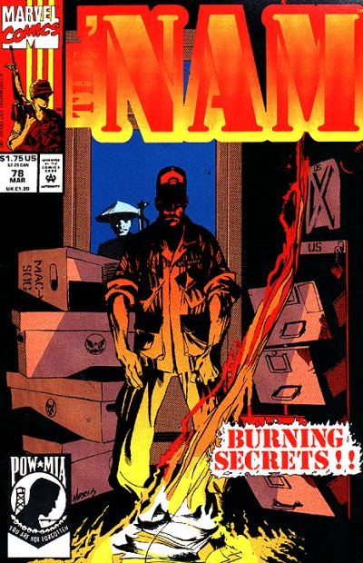 Cover for The 'Nam (Marvel, 1986 series) #78