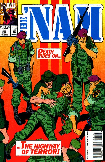 Cover for The 'Nam (Marvel, 1986 series) #83