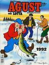 Cover for Agust och Lotta [julalbum] (Semic, 1988 series) #1992