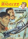Cover for Biggles (Semic, 1984 series) #7 - Den hemliga eskadern