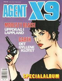 Cover Thumbnail for Agent X9 Specialalbum (Semic, 1985 series) #[1991]