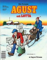 Cover Thumbnail for Agust och Lotta [julalbum] (Semic, 1988 series) #[1991]