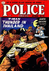 Cover Thumbnail for Police Comics (Quality Comics, 1941 series) #127