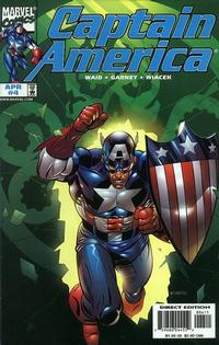 Cover Thumbnail for Captain America (Marvel, 1998 series) #4 [Direct Edition]