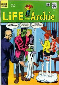 Cover Thumbnail for Life with Archie (Archie, 1958 series) #39