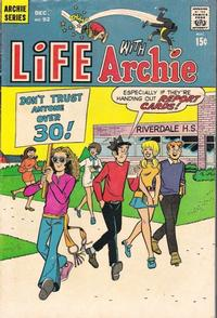 Cover Thumbnail for Life with Archie (Archie, 1958 series) #92