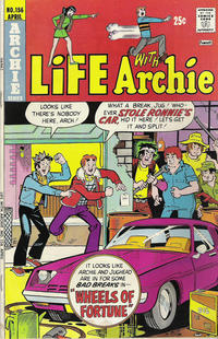 Cover Thumbnail for Life with Archie (Archie, 1958 series) #156