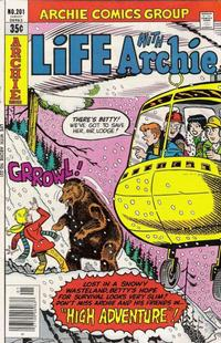 Cover for Life with Archie (Archie, 1958 series) #201