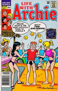 Cover Thumbnail for Life with Archie (Archie, 1958 series) #268 [Newsstand Edition]
