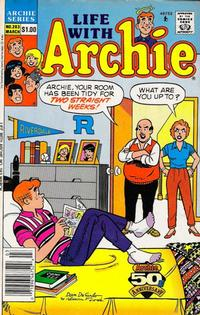 Cover Thumbnail for Life with Archie (Archie, 1958 series) #283 [Newsstand]
