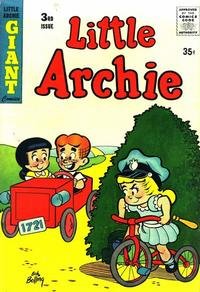 Cover Thumbnail for Little Archie (Archie, 1956 series) #3