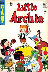 Cover Thumbnail for Little Archie Giant Comics (Archie, 1957 series) #6