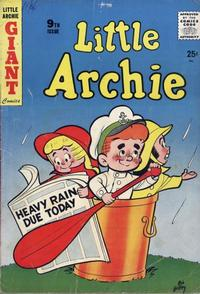 Cover Thumbnail for Little Archie Giant Comics (Archie, 1957 series) #9