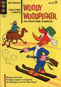 Cover Thumbnail for Walter Lantz Woody Woodpecker (Western, 1962 series) #77