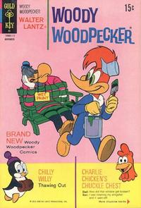 Cover Thumbnail for Walter Lantz Woody Woodpecker (Western, 1962 series) #120 [Gold Key]