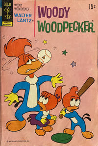 Cover Thumbnail for Walter Lantz Woody Woodpecker (Western, 1962 series) #125 [Gold Key]