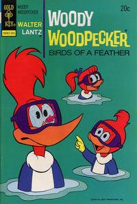 Cover Thumbnail for Walter Lantz Woody Woodpecker (Western, 1962 series) #131 [Gold Key]