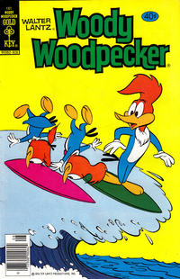 Cover Thumbnail for Walter Lantz Woody Woodpecker (Western, 1962 series) #181 [Gold Key]