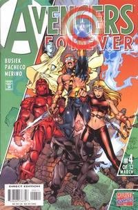 """Cover Thumbnail for Avengers Forever (Marvel, 1998 series) #4 [""""Avengers Tomorrow"""" Variant Cover]"""