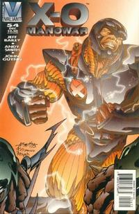 Cover Thumbnail for X-O Manowar (Acclaim / Valiant, 1992 series) #54