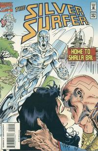 Cover Thumbnail for Silver Surfer (Marvel, 1987 series) #101