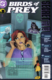 Cover Thumbnail for Birds of Prey Secret Files 2003 (DC, 2003 series)